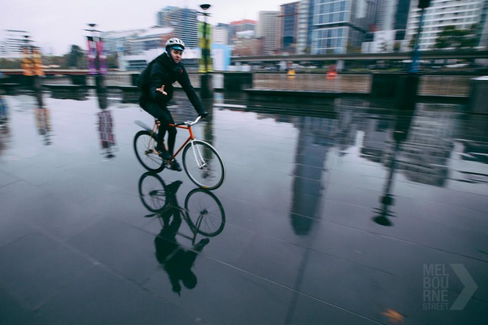 melbourne cyclist